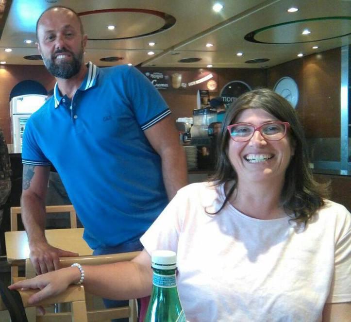 Simone Franci di GTI e Anna Palmisano di Confedercontribuenti Turismo